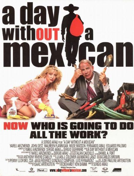 День без мексиканца. Обложка с сайта amazon.de