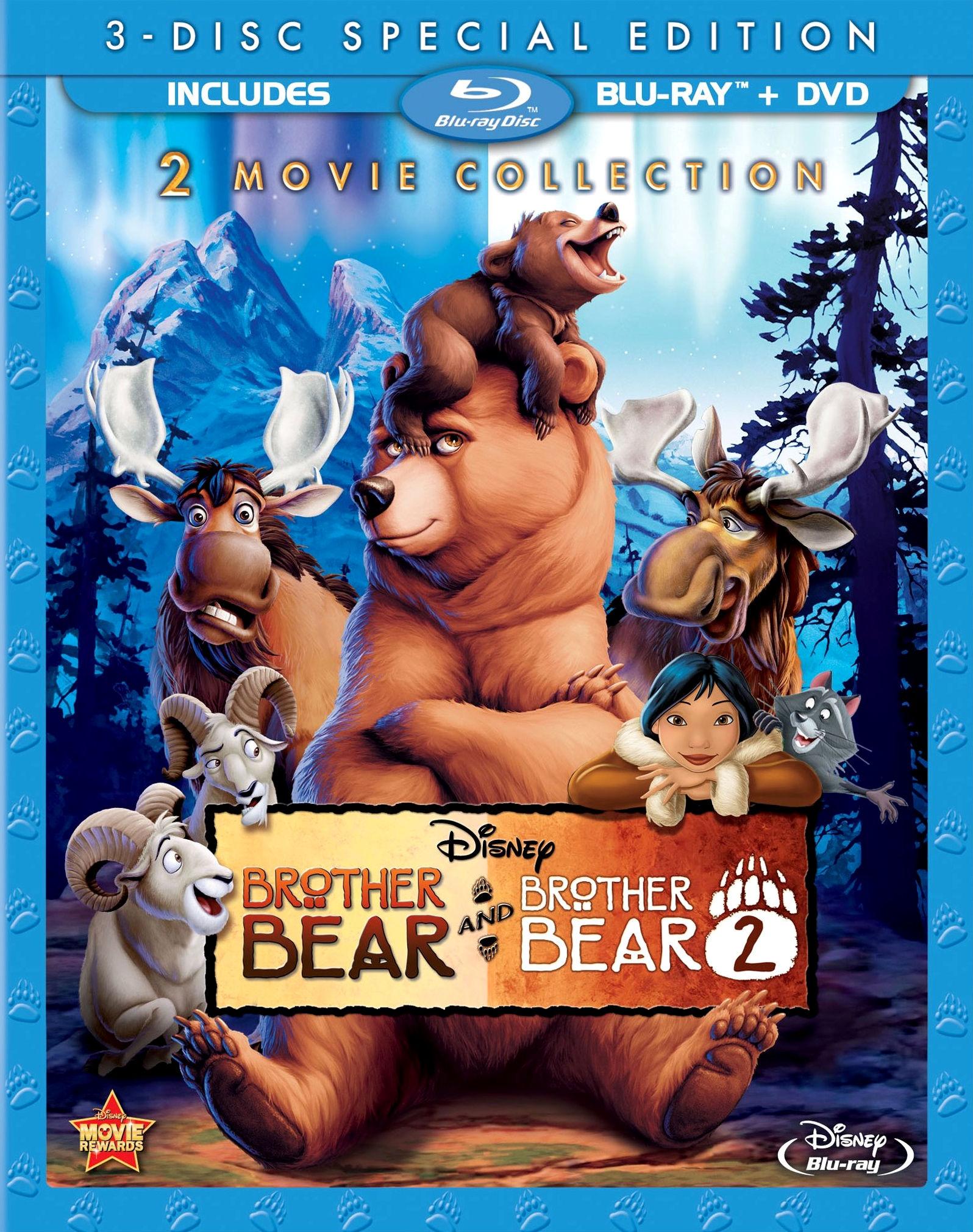 Братец медвежонок 2: Лоси в бегах. Постер с сайта radikal.ru