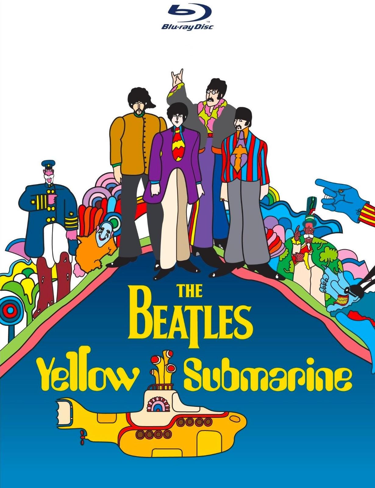 Beatles: Желтая подводная лодка. Обложка с сайта imageshost.ru