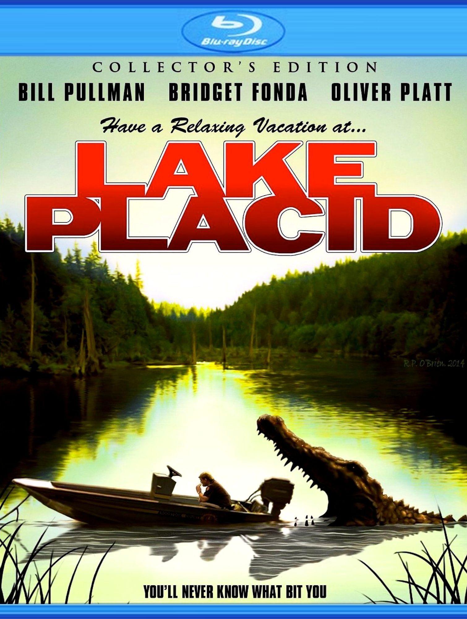 Лэйк Плэсид: Озеро страха. Обложка с сайта radikal.ru