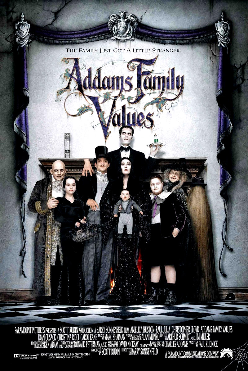 Ценности семейки Аддамс. Обложка с сайта imageshost.ru