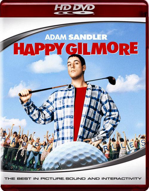 Счастливчик Гилмор. Обложка с сайта amazon.com
