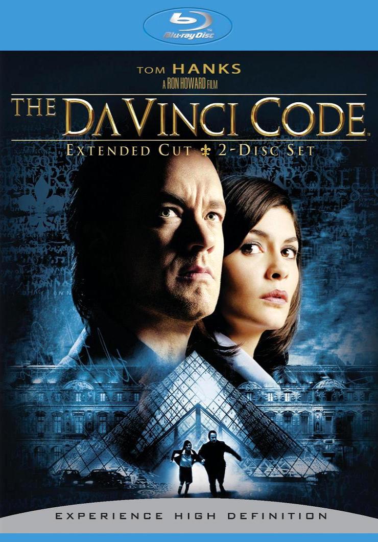 Код Да Винчи. Обложка с сайта blu-ray.com