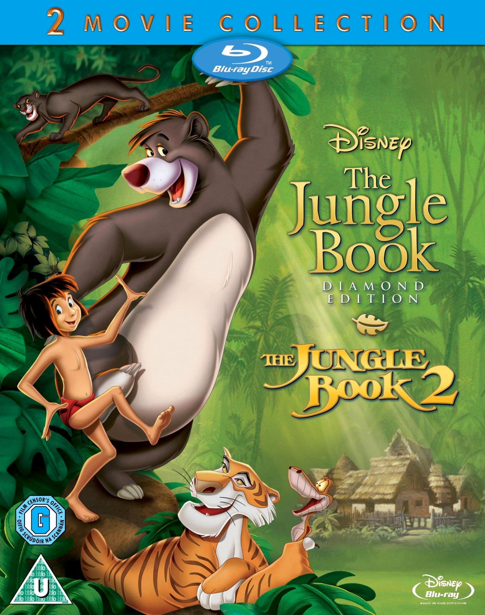 Книга джунглей. Обложка с сайта amazon.de