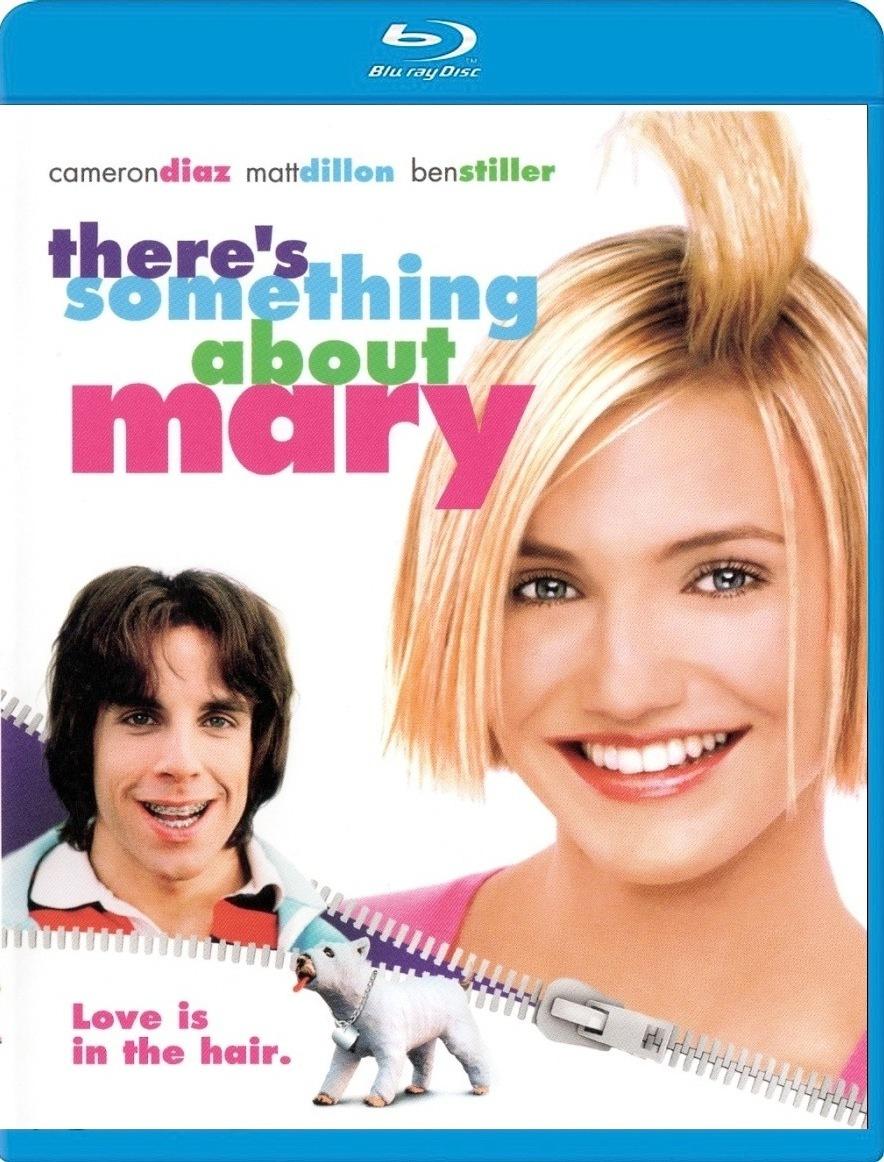 Все без ума от Мэри. Обложка с сайта blu-ray.com
