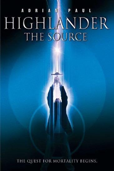 Горец: Источник. Обложка с сайта tvshowsondvd.com