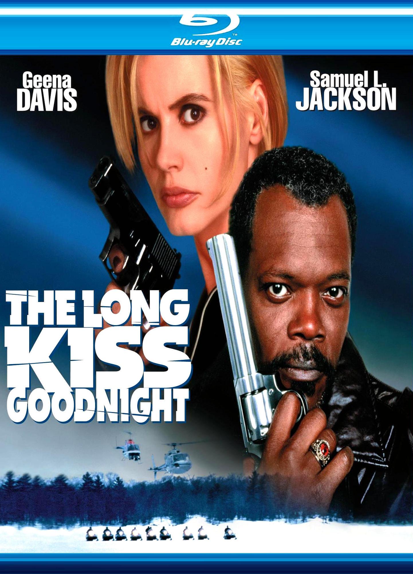 Долгий поцелуй на ночь. Обложка с сайта amazon.com