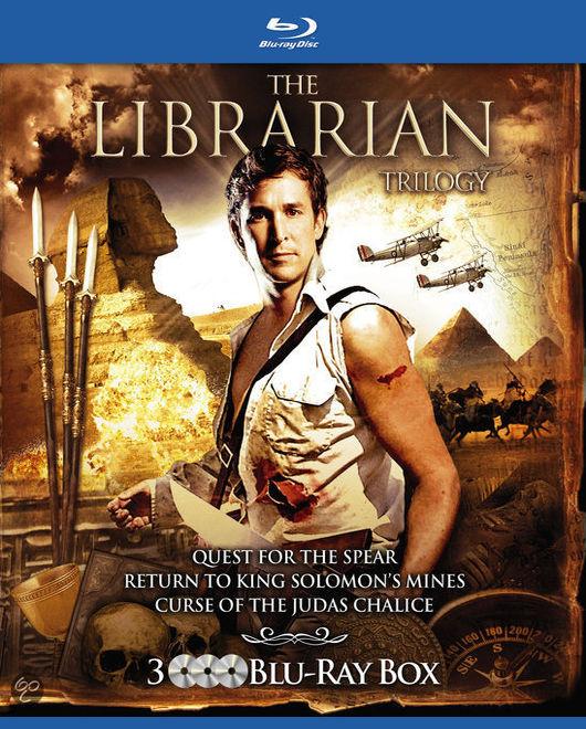 Библиотекарь: В поисках копья судьбы. Постер с сайта keep4u.ru