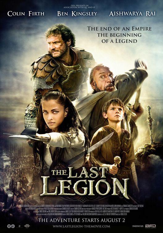 Последний легион. Постер с сайта kinopoisk.ru