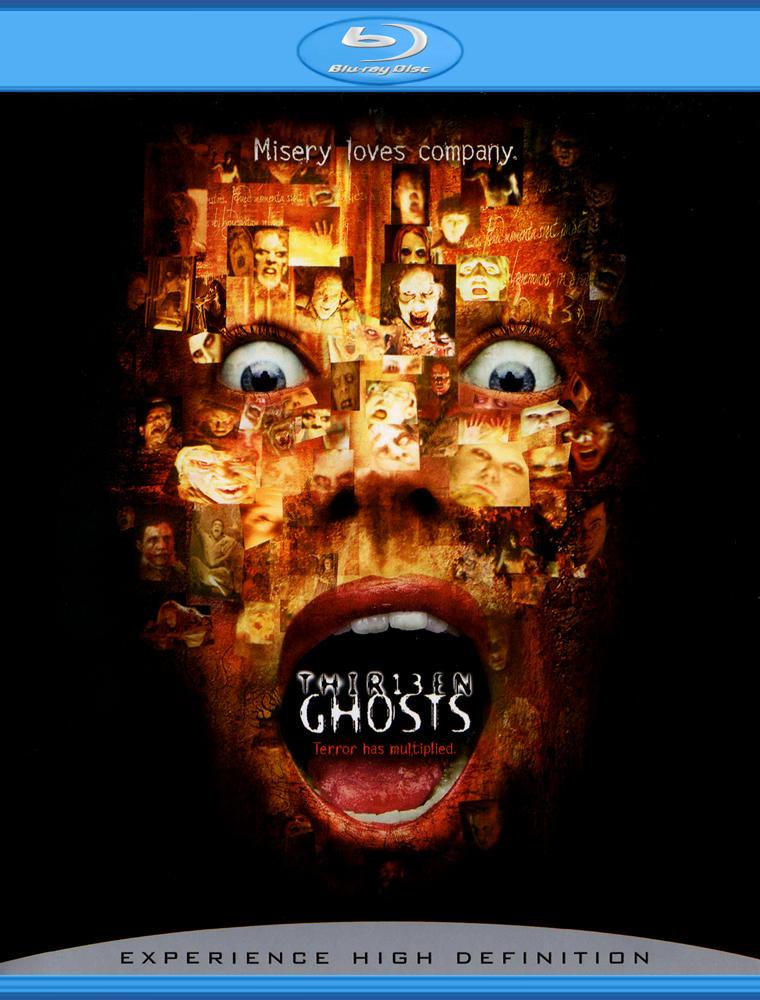 Тринадцать привидений. Обложка с сайта kino-govno.com