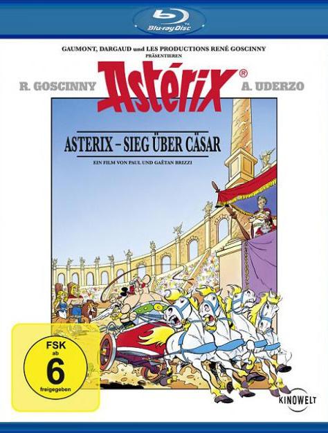 Астерикс против Цезаря. Постер с сайта ipicture.ru