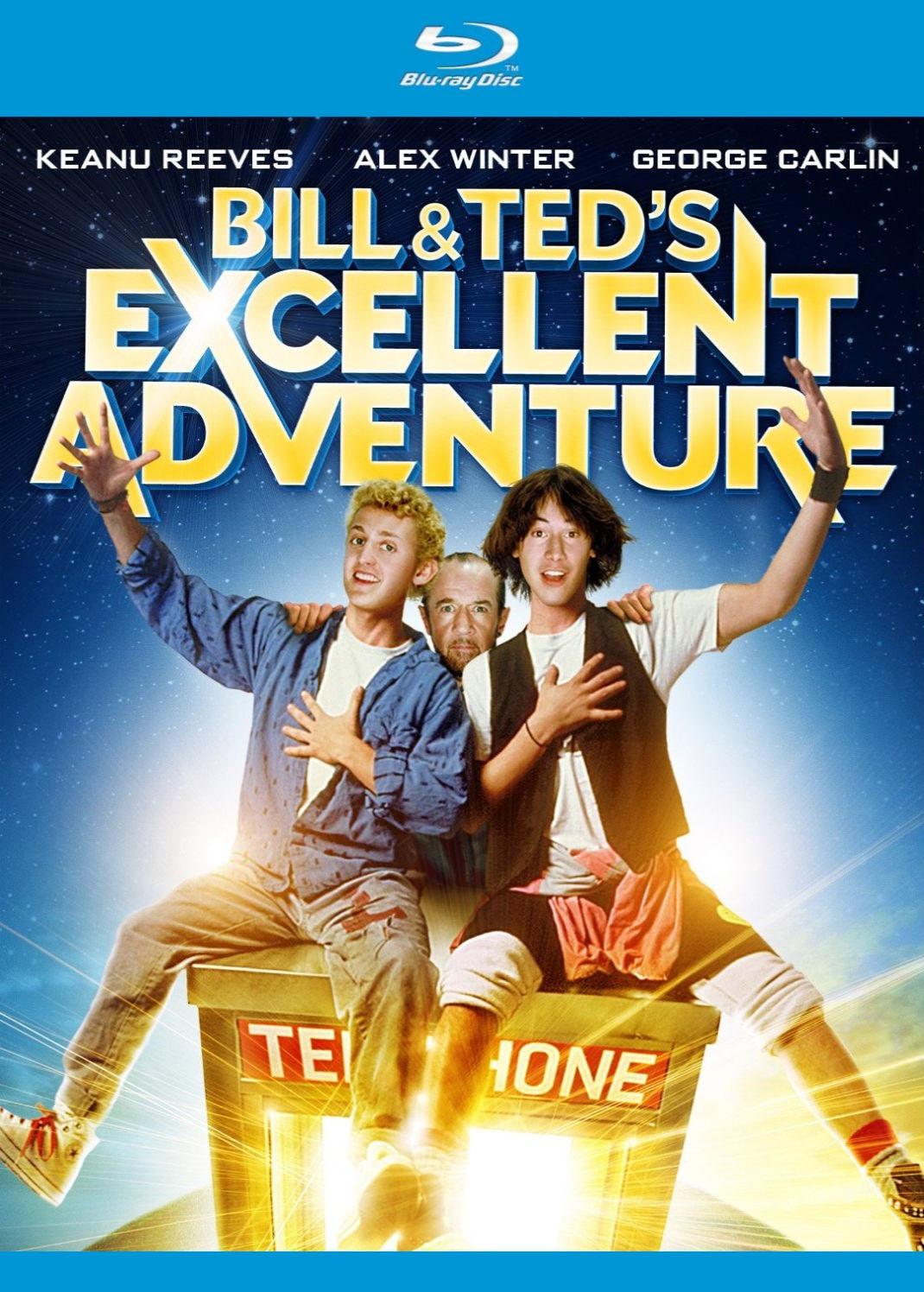 Невероятные приключения Билла и Теда. Обложка с сайта kino-govno.com