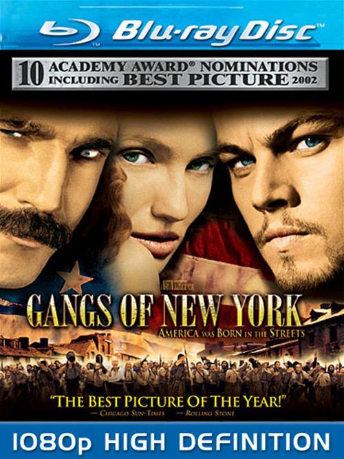 Банды Нью-Йорка. Обложка с сайта kinopoisk.ru