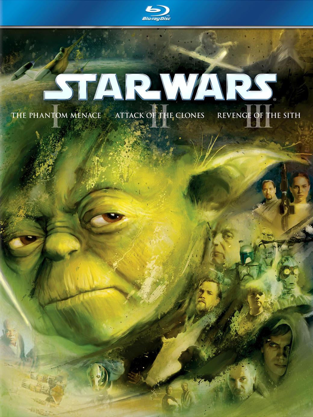 Звездные войны: Эпизод 2 - Атака клонов. Обложка с сайта amazon.com