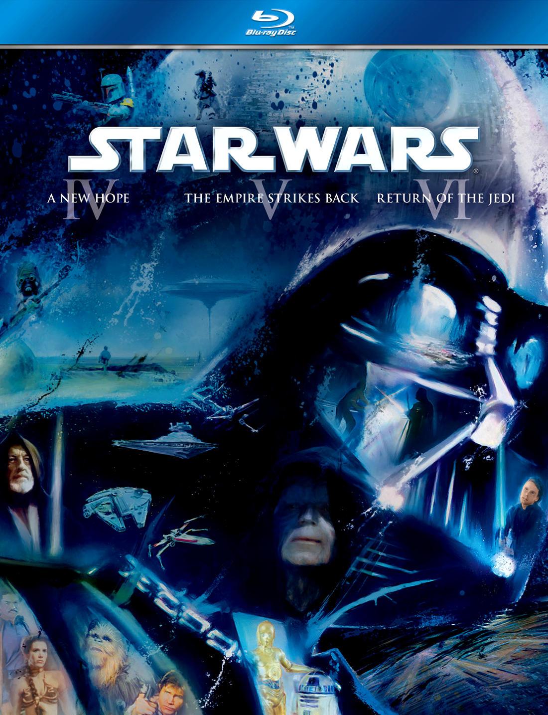 Звездные войны: Эпизод 5 - Империя наносит ответный удар. Обложка с сайта radikal.ru
