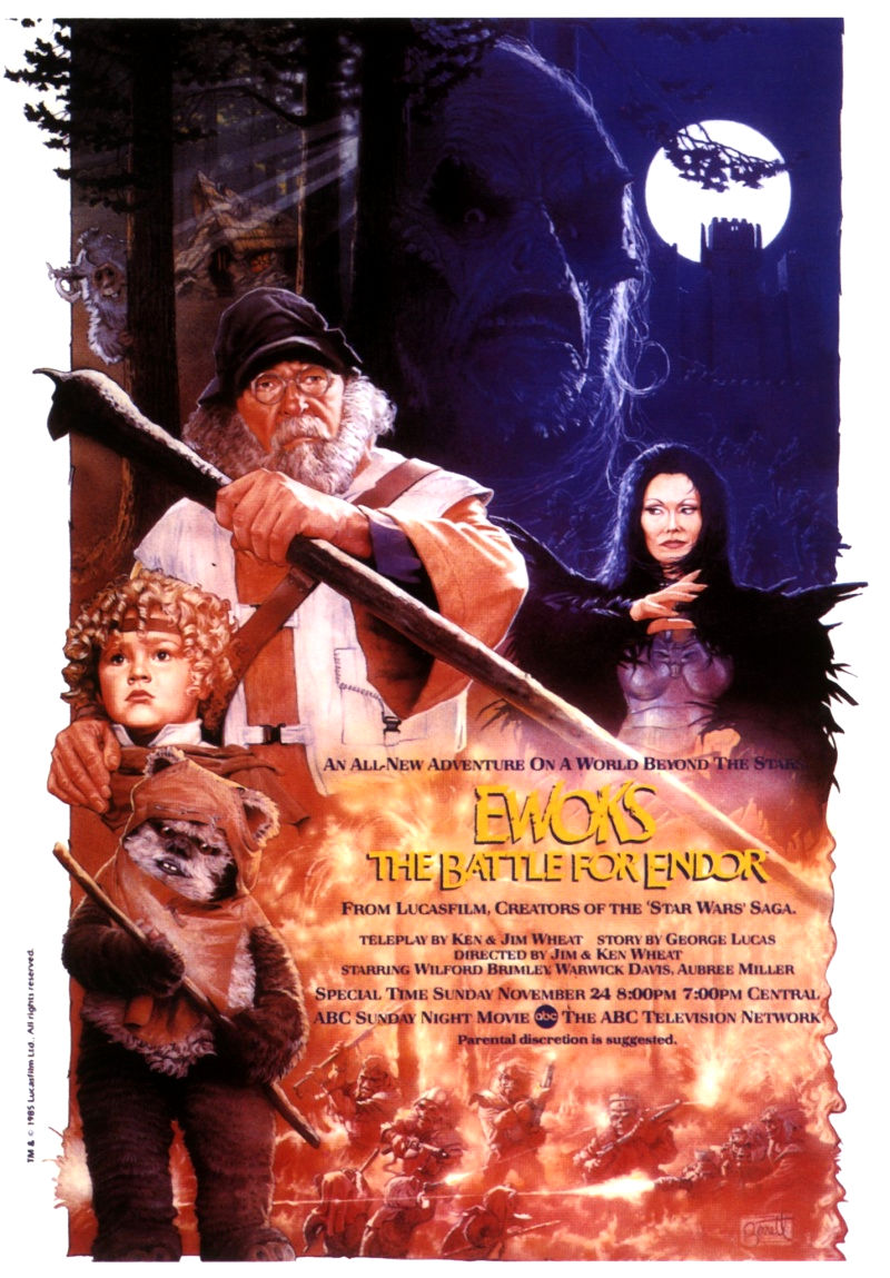 Звездные войны: Эвоки - Битва за Эндор. Обложка с сайта amazon.com