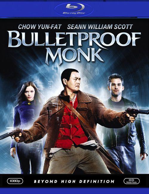 Пуленепробиваемый монах. Обложка с сайта blu-ray.com