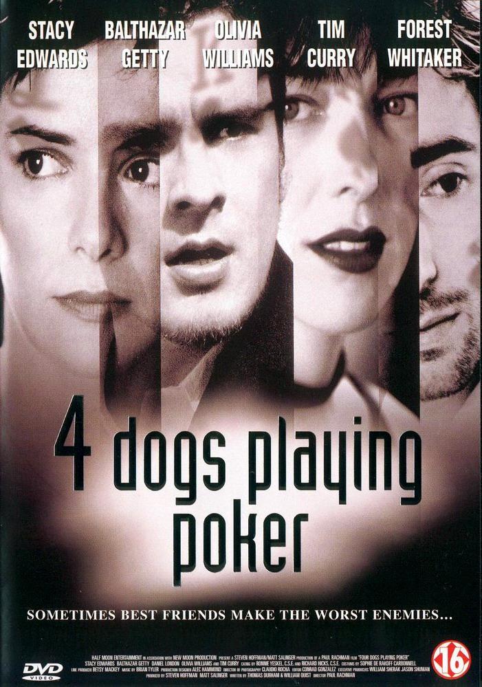 Четыре собаки в игре в покер / Игра втемную. Обложка с сайта amazon.de