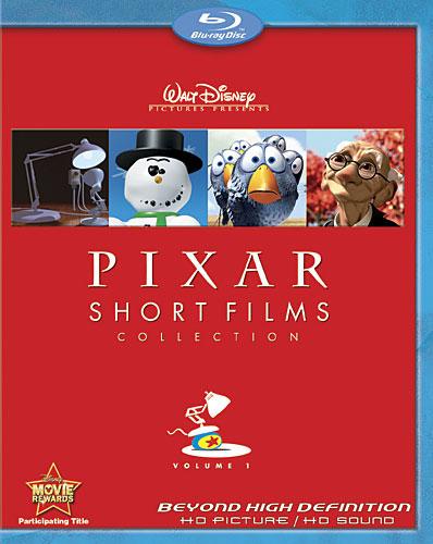 Сборник коротких фильмов от Pixar. Часть 1. Обложка с сайта kinopoisk.ru