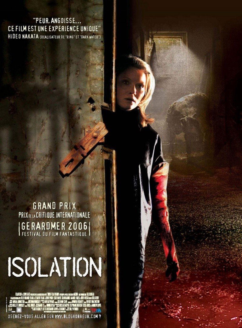 Изоляция. Обложка с сайта amazon.com