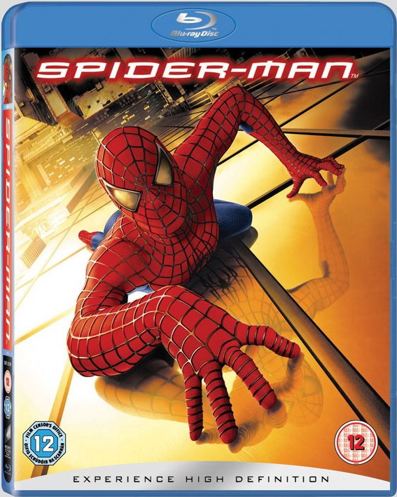 Человек-паук. Обложка с сайта kinopoisk.ru