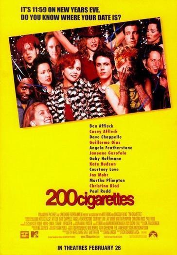 200 сигарет. Обложка с сайта amazon.co.uk