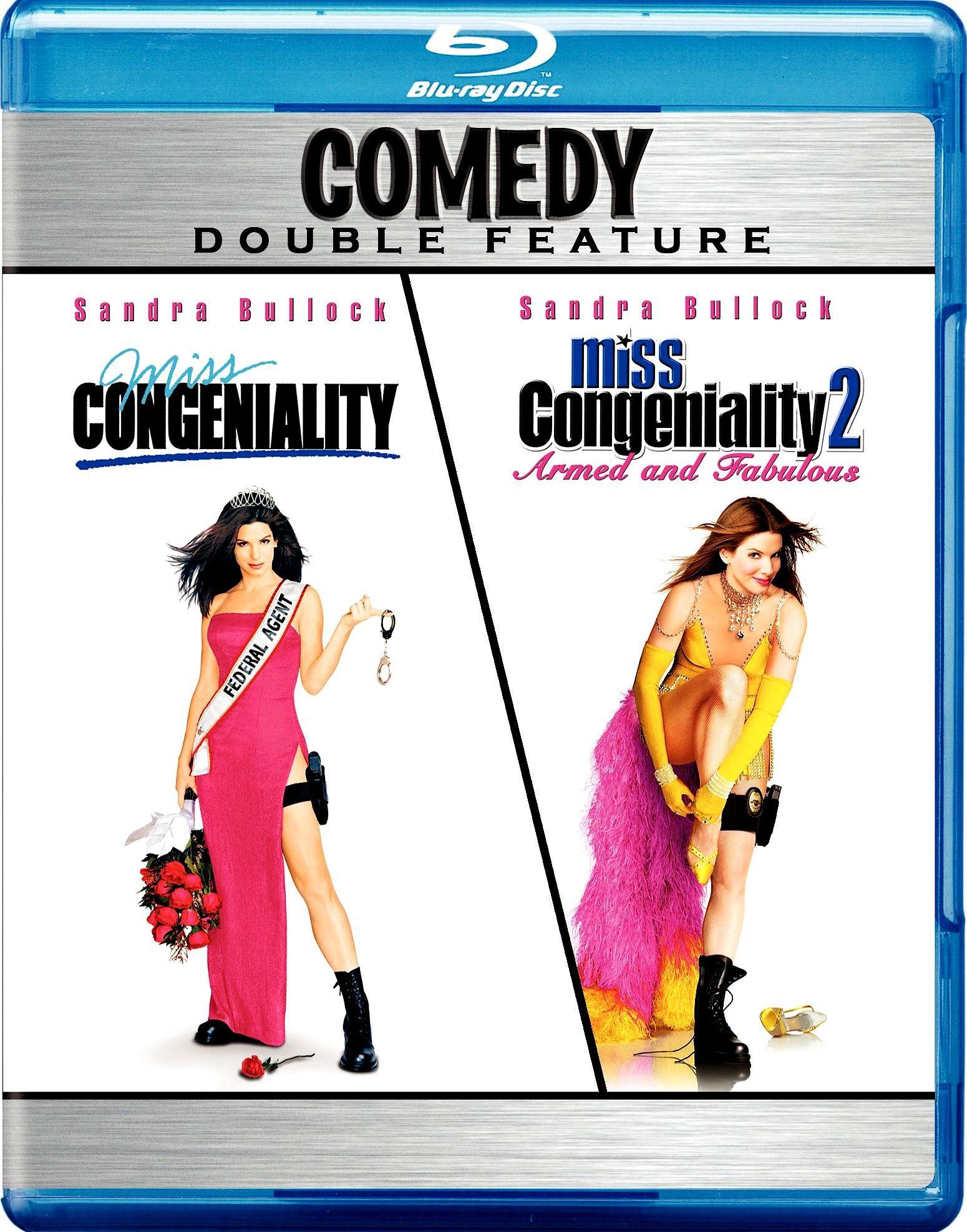 Мисс Конгениальность. Обложка с сайта blu-ray.com