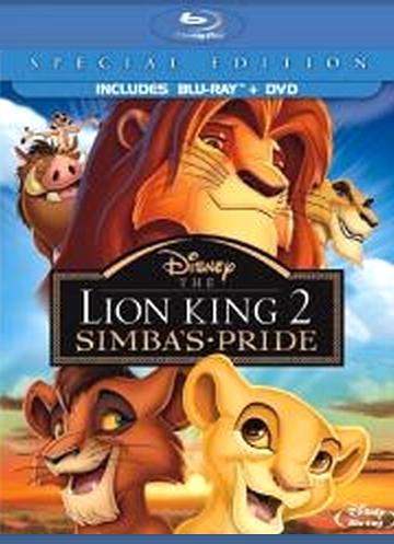 Король-лев 2: Гордость Симбы. Обложка с сайта amazon.com