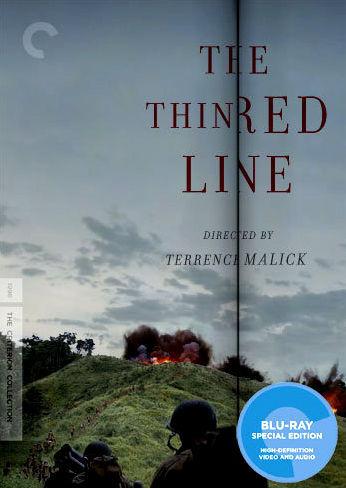 Тонкая красная линия. Обложка с сайта amazon.co.uk