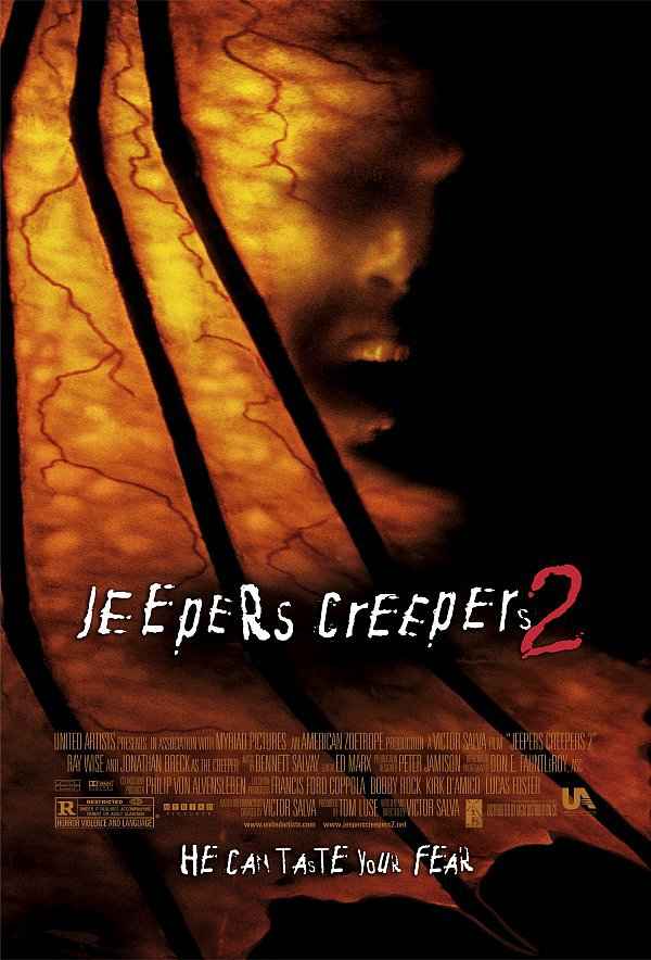 Джиперс Криперс 2. Постер с сайта ipicture.ru