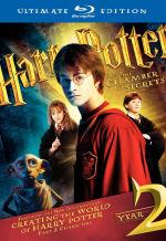 Гарри Поттер и тайная комната. Обложка с сайта blu-ray.com