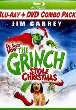 Гринч - похититель Рождества. Обложка с сайта blu-ray.com