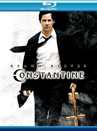 Константин: Повелитель тьмы. Обложка с сайта blu-ray.com