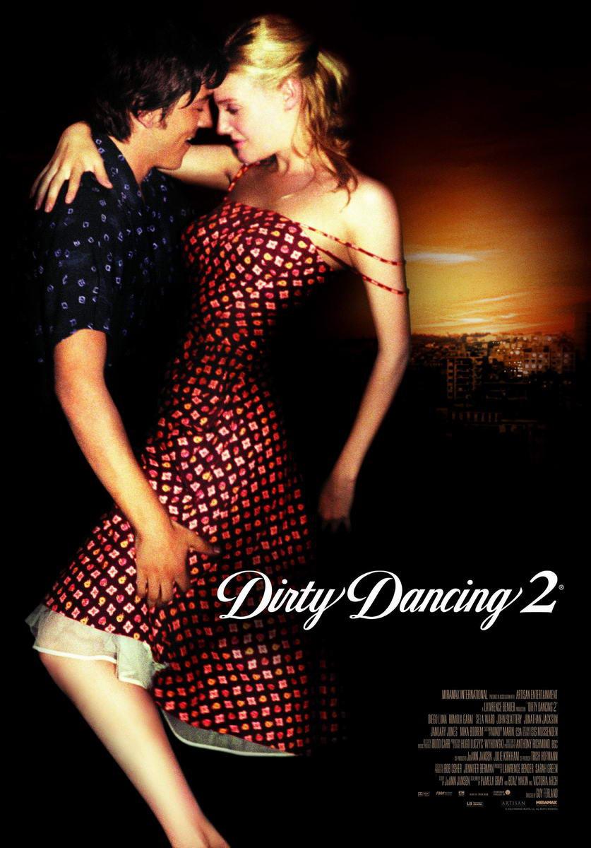Грязные танцы 2: Гаванские ночи. Обложка с сайта ipicture.ru