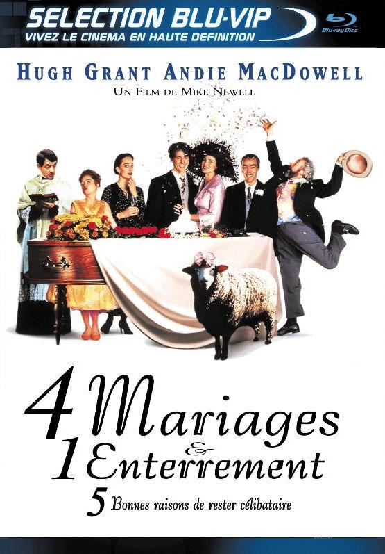 Четыре свадьбы и похороны. Обложка с сайта ipicture.ru