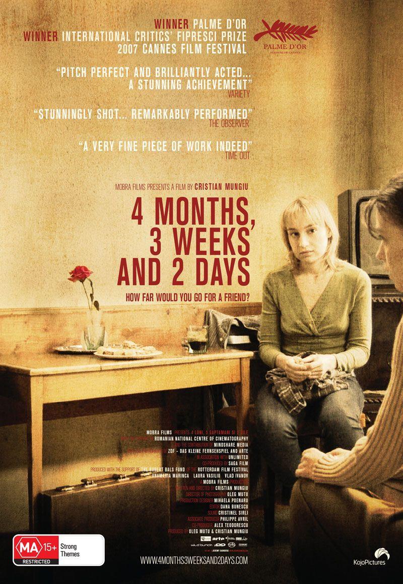 4 месяца, 3 недели и 2 дня. Обложка с сайта ipicture.ru