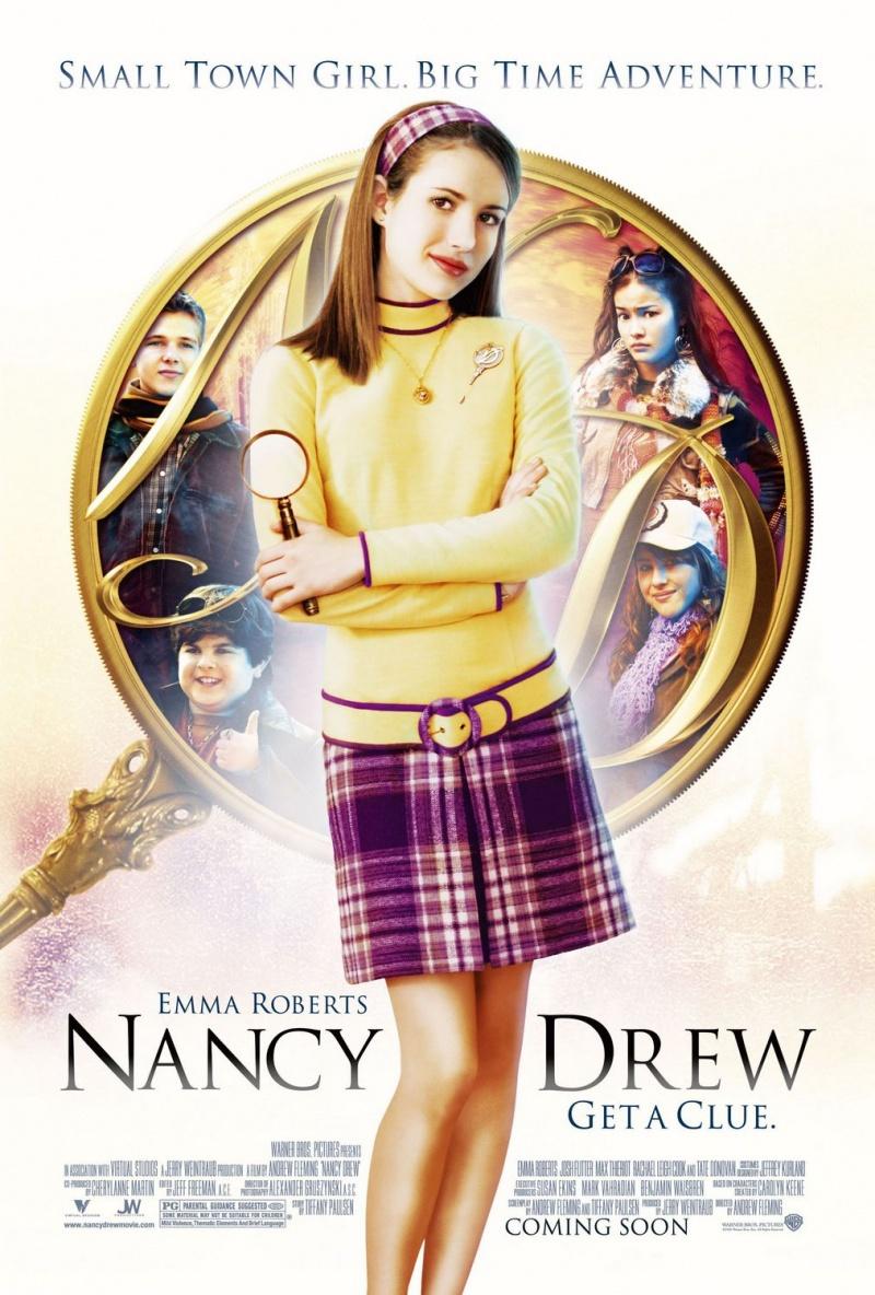 Нэнси Дрю. Постер с сайта imagepost.ru