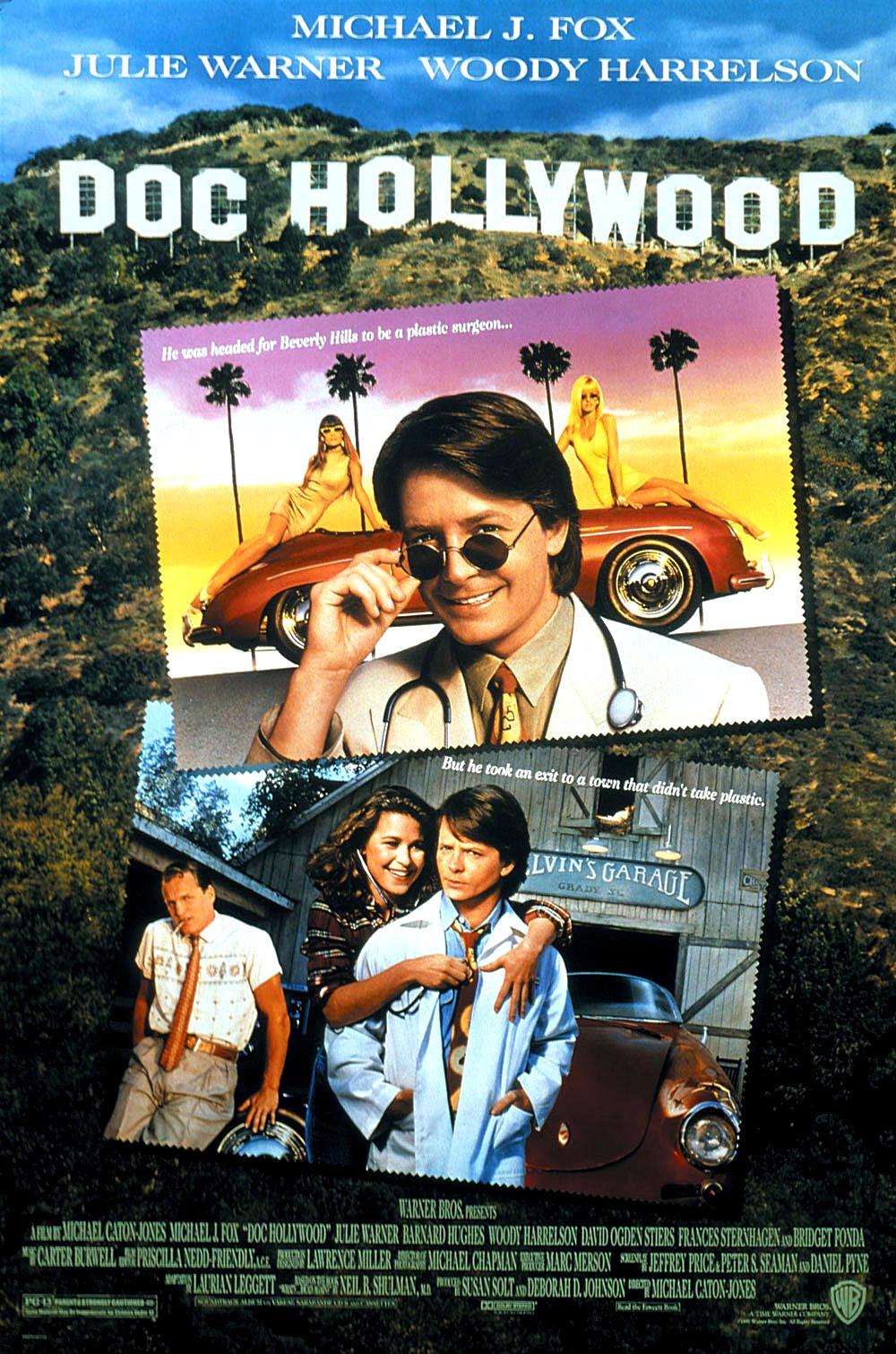 Доктор Голливуд. Обложка с сайта kino-govno.com