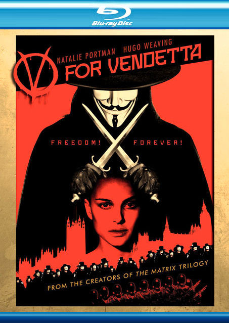 V значит Вендетта. Обложка с сайта kinopoisk.ru