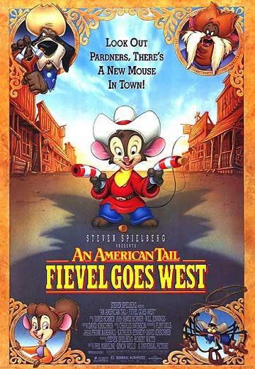 Американская история 2: Фивел едет на Запад. Обложка с сайта amazon.de