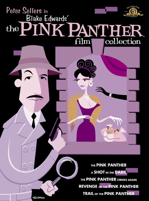 Розовая пантера. Обложка с сайта amazon.de