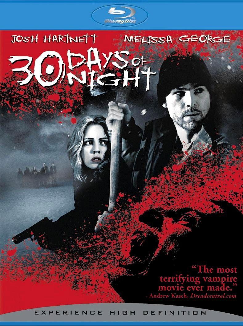 30 дней ночи. Обложка с сайта blu-ray.com