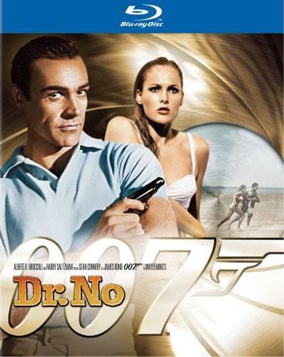 Джеймс Бонд 007: Доктор Ноу. Обложка с сайта blu-ray.com