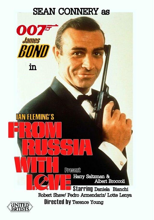 Джеймс Бонд 007: Из России с любовью. Обложка с сайта blu-ray.com