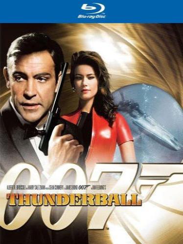 Джеймс Бонд 007: Шаровая молния. Обложка с сайта blu-ray.com