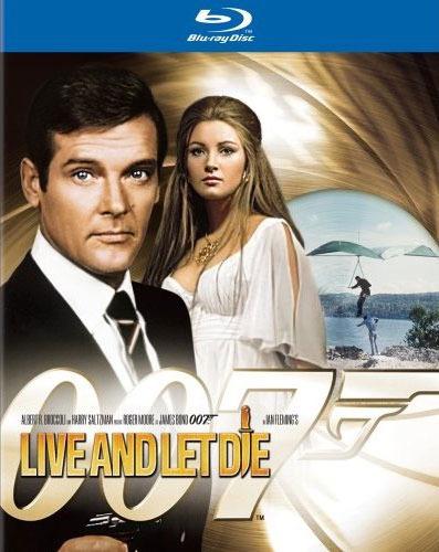 Джеймс Бонд 007: Живи и дай умереть. Обложка с сайта blu-ray.com