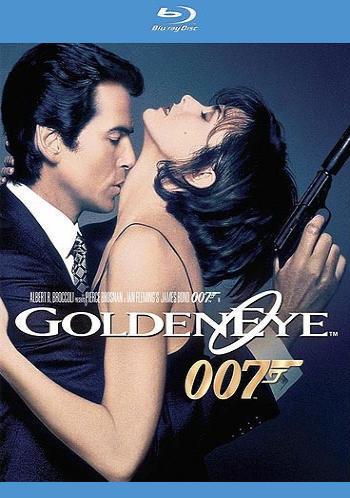 Джеймс Бонд 007: Золотой глаз. Обложка с сайта amazon.de