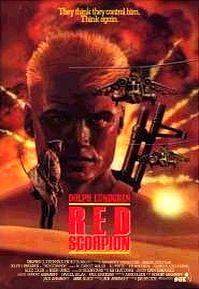 Красный скорпион. Обложка с сайта amazon.com
