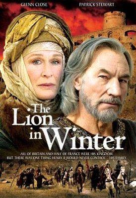 Лев зимой. Обложка с сайта amazon.com