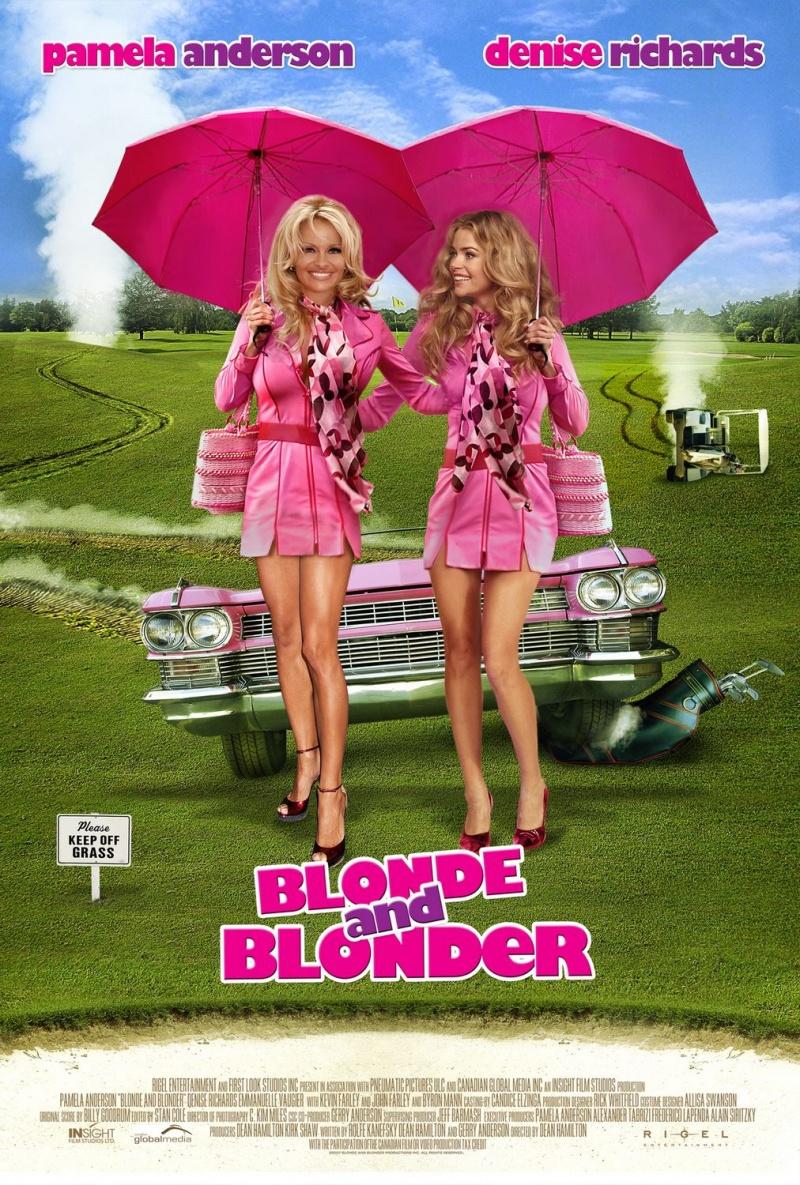Блондинка и блондинка. Постер с сайта ipicture.ru